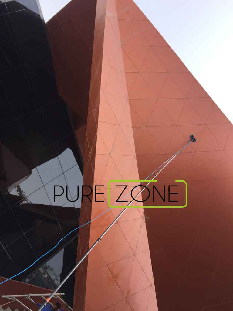 Window Cleaning Company in Dubai UAE   Facade Cleaning Services